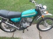 1974 Suzuki Tc100 Trail Motocross Dirt Bike One Owner