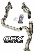 Obx Stainless Steel Long Tube Header For 2011-2021 Ford F150 F-150 5.0l 2/4wd