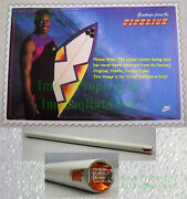 Nitf Factory Sealed Nike Bo Jackson Poster Surfing ☆ Greetings From The Pipeline