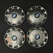 Lot X 4 Vintage Chrome Wheel Cover Hub Cap For Bmw Ideal For Restoration