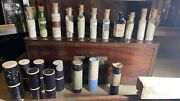 Antique Homeopathic Apothecary Travel Kit British 1800andrsquos