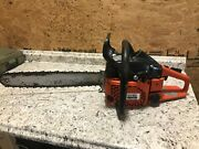 Dolmar Ps-540 Chainsaw 18 Bar - Excellent Working Condition Starts Easily
