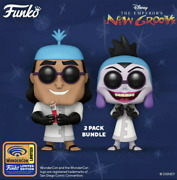2021 Wondercon Funko Pop Emperors New Groove Kronk And Yzma 2pack Confirmed Order