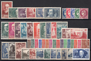 Stamps France Year 1938 Complete New