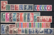 Stamps France Year 1938 Complete New Superb