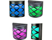 Seachoice 03711 Solar Side-mount 7 Color Led Lamp Auto On At Dusk Pack Of 4