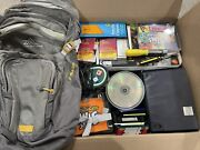 200+ Value Junk Drawer Grab Bag Lot Of Home Goods Wholesale Box 40+ Lbs