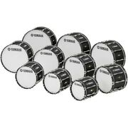 Yamaha 26 X 14 8300 Series Field-corps Marching Bass Drum Black Forest