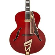 D'angelico Excel Style B Tb Hollowbody Guitar W/ Duncan Floating Mini Hb Viol