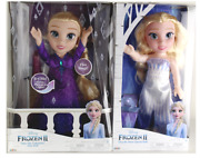 Frozen 2 Singing Elsa Doll And Elsa The Snow Queen Doll Into The Unknown 2 Dolls