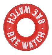New Sunnylife Giant 45.5andrdquo Red Bae Watch Pool Ring Float