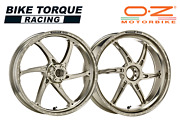 Oz Gass Rs-a Forged Alloy Wheels Ti Colour To Fit Ducati 916 Monster S4 01-03