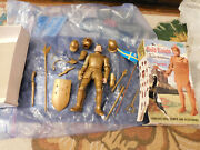 Vtg 1968 Marx Sir Gordon Gold Knight Figure W/ Box And Accessories Noble Series