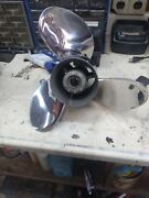 Precision Propeller Turbo Stainless Steal 14 1/4 X 24