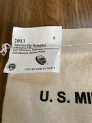 2013 S Fort Mchenry Natandrsquol Mon Hs 25 Quarter Bag America The Beautiful Unopened