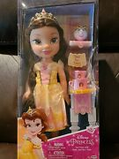 Disney Princess My First Tea Time With Belle And Mrs. Potts Doll Set 2018 - New