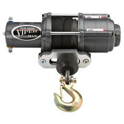 Viper Atv/utv Winch - Max 3500 Lb With 50 Feet Of Synthetic Rope