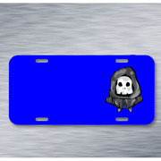 Characters Death Game Art Game Assets On License Plate Car Front Add Names