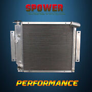 3 Rows 52mm Aluminum Radiator For International Scout Ii Pickup At Mt 70-81 7180