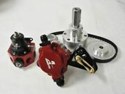 Aeromotive Blower Fuel Pump Belt Drive Kit For Carbs With Hub And Regulator