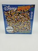 New Disney Mickey Mouse Worldandrsquos Most Difficult Double Sided 500 Pc Jigsaw Puzzle