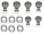Piston Set Yamaha V6 F225 F250 3.3 Ltr. 6p2-11631-00-b0 Four Stroke 2005 - 2017