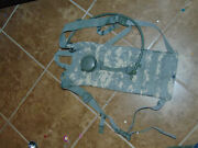 Army Issue Molle Hydration System Camelbak Water Pack W/ Bladder Multicam Acu