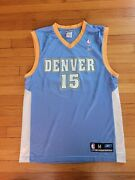 Denver Nuggets Jersey. Carmelo Anthony 15. Made By Reebok. Size M. Used