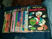 Donald Duck 14 Issue Golden Silver Bronze Age Comics Lot Run Set Collection Dell