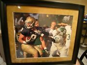 Notre Dame Football Kyle Rudolph Autographed Photo 16x20 Steiner Hologram