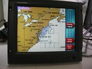 Furuno 15 Mu-155c Color Marine Lcd Monitor W/ Power Cable - Tested Ser 0746