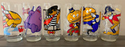 1977 Mcdonalds Collector And Action Series Glasses- Set Of 12 No Duplicates