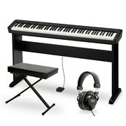 Casio Cdp-s100 Keyboard With Cs46 Stand Black
