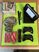 32 Gb Nintendo Wii U Bundle With 10 First Party Games And Two Pro Controllers