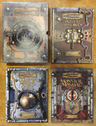 Dungeons And Dragons 3.5 Near Mint Core Rulebook Slipcased Set 2003 1st Print