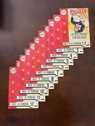 1952 Oslo Olympic Complete Set Of Official Programs With Opening And Closing