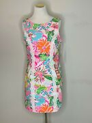 Lily Pulitzer For Target Nosey Posey Sleeveless Spring Dress 20th Anniv Pink