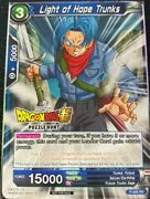 Dragon Ball Super Card Game Tcg Ccg Light Of Hope Trunks Puzzle Hunt P-005