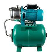 1hp Shallow Well Jet Pump With Pressure Tank For Farms Cabins Gardens 420 Rpm