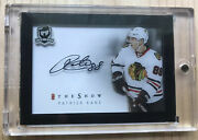 Patrick Kane 2016-17 The Cup The Show On Card Autograph Very Rare Showtime
