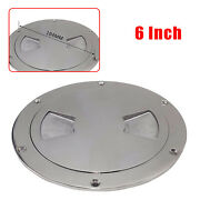Boat Marine Out 6 Deck Plate Inspection Access Hatch Cover Stainless Steel