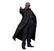 Used Movie Masterpiece Captain America / Winter Soldier Nick Fury 1/6 Scale Fig.