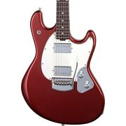 Ernie Ball Music Man Stingray Rs Rosewood Fingerboard Guitar Dropped Copper
