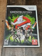 Ghostbusters The Video Game Nintendo Wii, 2009 With Case And Manual Tested