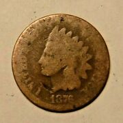 1876 U.s. Indian Head Cent, Penny, 3