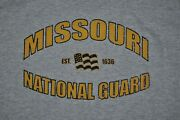 T-shirt Large Missouri State National Guard Military Army 21.5 Inches Pit To Pit