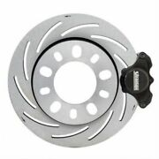 Strange Engineering B4446wc Disc Brakes Pro Race Front Slotted Rotors New