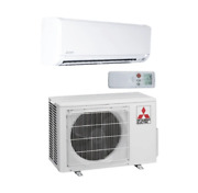Mitsubishi M-series 9000 Btu Wall Mounted Heating And Cooling Air Conditioning S