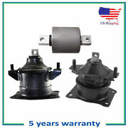 Hydraulic 2pcs Engine Motor And 1 Trans Mount Bushing For 05-08 Acura Rl For Auto