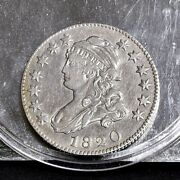 1820 Bust Quarter - Large 0 - Xf/ch Xf Details 36189